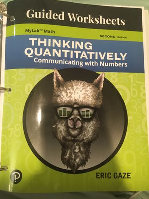 Thinking Quantitatively for Sale in Herndon, VA