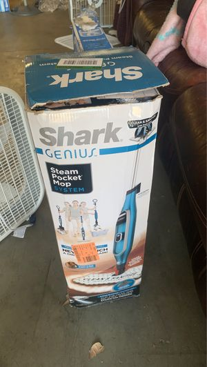 Shark genius steam pocket mop system for Sale in Covina, CA
