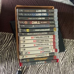 Ps3 Games. Bundle or Individual (12$) for Sale in Miami, FL