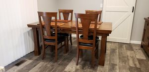 Cost Plus World Market Dining Table + 4 Chairs for Sale in Portland, OR