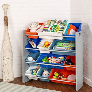 Gray Kids Toy Organizer and Storage Bins for Sale in Los Angeles, CA