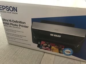 [FREE: AS IS] EPSON R260 Photo Printer (only printer) for Sale in Washington, DC