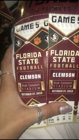 FSU vs Clemson tickets for Sale in Tallahassee, FL