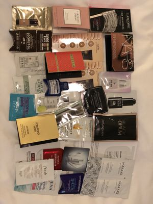30 cosmetic/skin care/ Perfumes samples - Chanel, YSL, Nars, Fresh for Sale in Alta Loma, CA