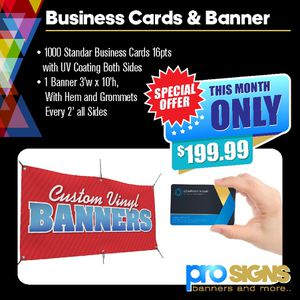 Signs and Banners for Sale in Chino, CA