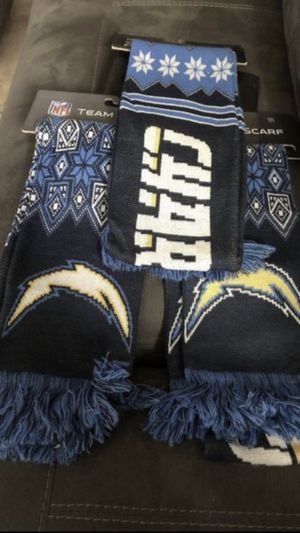 Chargers Scarfs-2 left. $10 each for Sale in undefined