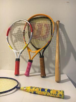 Kids tennis rackets for Sale in Alexandria, VA