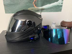 Sedici Strada Helmet Size Small With SENA Bluetooth for Sale in Huntington Beach, CA
