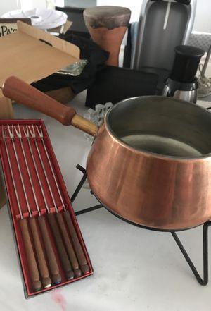Copper Fondue Pot for Sale in Miami, FL