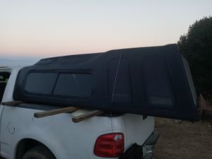 Long bed 68x100 camper shell for Sale in Los Angeles, CA
