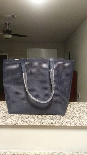 New Neiman Marcus blue navy tote for Sale in Dallas, TX
