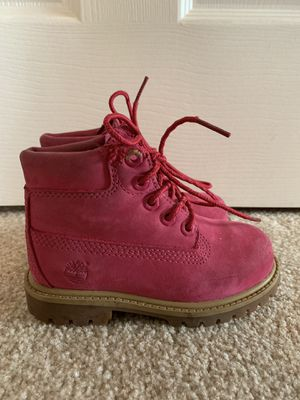Toddler girl Timberland boots for Sale in Montesano, WA