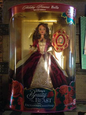 Barbie Disney belle holiday princess special edition 1997 for Sale in Richmond, TX