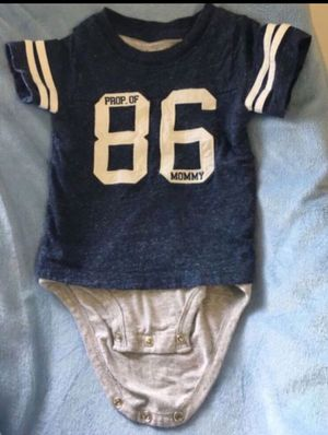 Baby boy bodysuit/ shirt 👕 for Sale in Lake Forest, CA