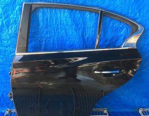 2014 - 2018 INFINITI Q50 REAR LEFT DRIVER SIDE DOOR BLACK for Sale in Fort Lauderdale, FL