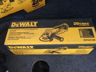 """Dewalt 4 1/2"""" Grinder  for Sale in Spokane, WA"""