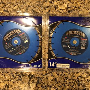 Brand New 14 Inch Rockstar Diamond Blades for Sale in Georgetown, MA