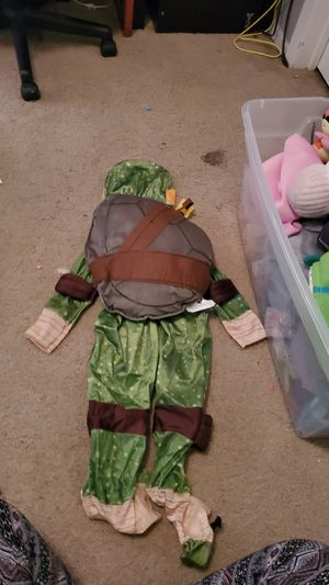 Michelangelo Ninja Turtle costume size 2t-3t brand new for Sale in Garland, TX