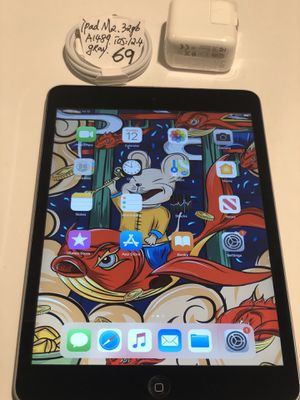 "Apple iPad mini 2nd 32gb Gray/Black,WiFi ,7.9"",A1489,Version iOS 12.4.Clean iCloud, Fully Functional,Everything Works,Good Condition. iOS 12.4.7 for Sale in San Leandro, CA"