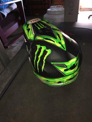 Monster motorcycle helmet for Sale in Los Angeles, CA