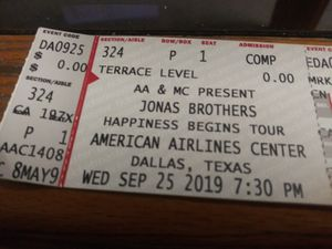 Jonas brothers tickets for Sale in Fort Worth, TX