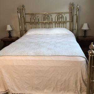 Wesley Allen Brass Queen Bed for Sale in Lakewood, CA