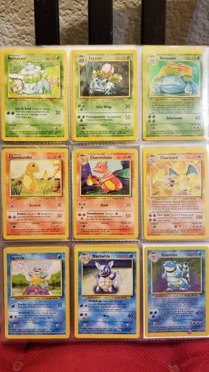 151 Pokemon Card Collection (First Generation) for Sale in Sacramento, CA
