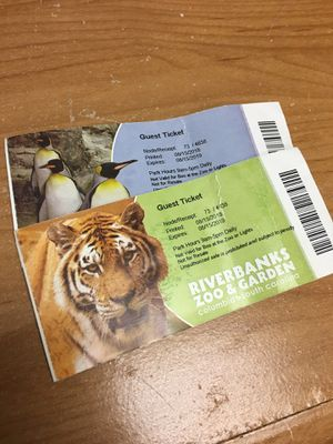 Riverbanks tickets for Sale in Blythewood, SC