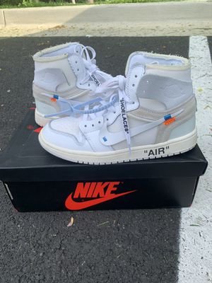 Air Jordan 1 X Off-White NRG for Sale in Gaithersburg, MD