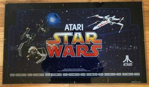 Original authentic Star Wars arcade game backlight marquee from 1983 for Sale in Milpitas, CA