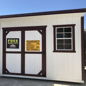 8/12 Cottage Shed With Rent To Own for Sale in Lytle, TX
