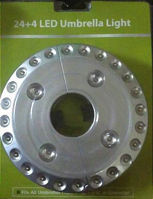 24+4 LED Garden Umbrella Light for Sale in Queens, NY