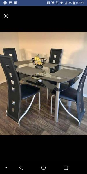 FREE DELIVERY- Brand New 5pc. Dining Table Set for Sale in Austin, TX