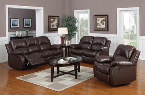 💥New! Comfy recliner 3pc living room set for Sale in San Diego, CA