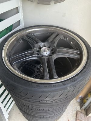 Rims and Tires 500 obo for Sale in Fort Lauderdale, FL