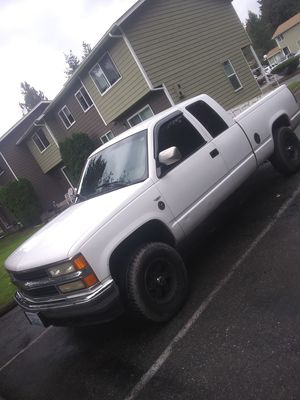 1994 chevy silverado 4x4 for Sale in Snohomish, WA