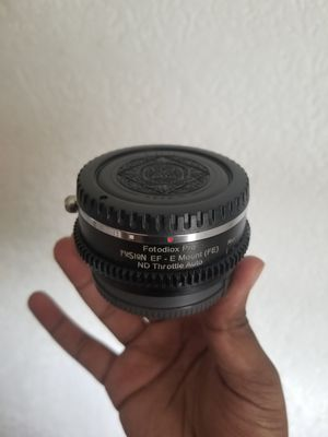 EF to Sony E ND Adapter for Sale in Queens, NY