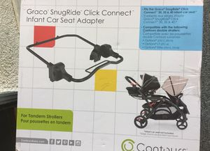 Contours Graco Snug ride adapter for Sale in Marina del Rey, CA