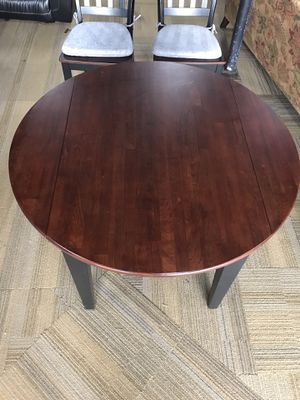 Drop Leaf Table & 2 Chairs for Sale in St. Peters, MO