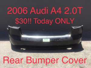 Audi A4 Rear Bumper Cover 2006 2.0T Used Audi Parts VW Parts for Sale in Los Angeles, CA