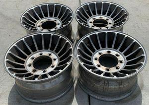 "16.5"" Vintage Chevrolet C20 truck vintage WESTERN turbine Aluminum mag wheels for Sale in San Fernando, CA"