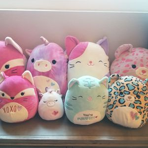 Valentine Squishmallows for Sale in Chula Vista, CA