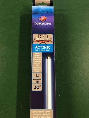 "Coralife HO 30"" T5 actinic blue light for Sale for sale  Raritan, NJ"