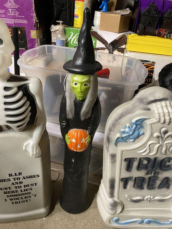 Halloween Blow Molds - set of 3