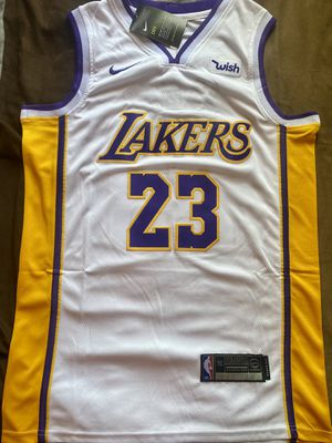 Lebron James # 23 Lakers jersey size L for Sale in Los Angeles, CA