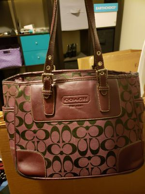 Coach purse with some wear for Sale in Spokane Valley, WA