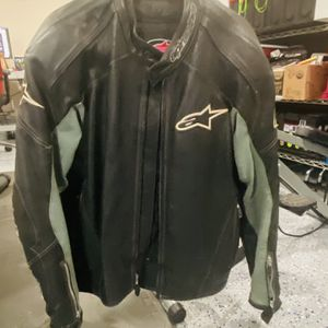 Alpinestars Leather Jacket for Sale in Stanford, CA