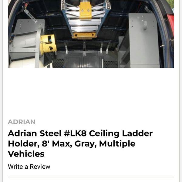 Brand New Ladder Holder Rack For Medium Or High Roof Van / Vehicle
