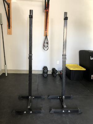 Two piece squat rack for Sale in San Diego, CA