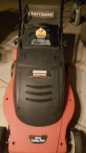 Craftsman electric lawnmower lawn mower for Sale in Chandler, AZ